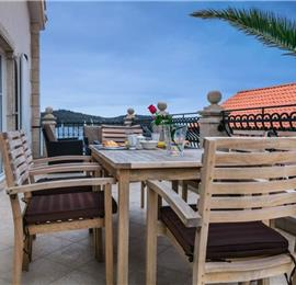 9 Bedroom Seaside Villa with Terrace in Vis Town, Sleeps 18