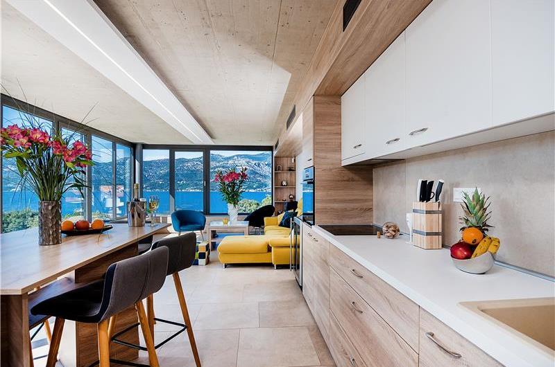 2 x 3 Bedroom Villas with Sea Views and Pools on Korcula Island, Sleeps 6-7
