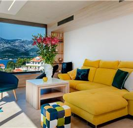 2 x 3 Bedroom Villas with Sea Views and Pools on Korcula Island, Sleeps 6-7