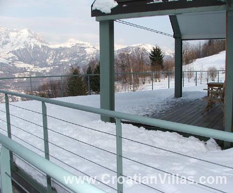 1 bedroom apartment in Soca Valley, Sleeps 2