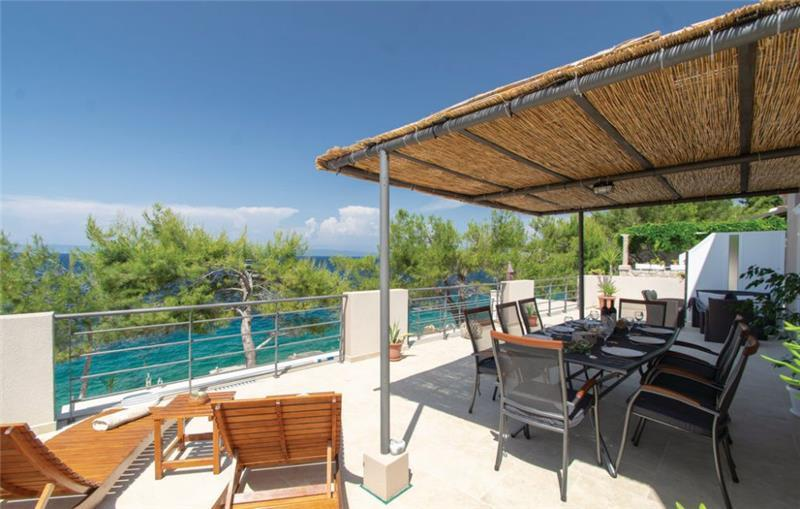 3 Bedroom Seafront Villa with Pool and Bathing Platform on Korcula Island, Sleeps 6-8