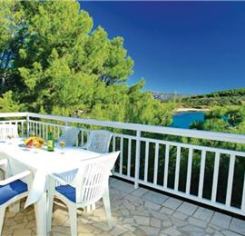 8 Bedroom Villa with Pool and Balcony with Sea Views on Korcula Island, Sleeps 18