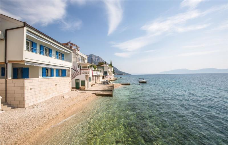 4 Bedroom Seafront Villa with Terrace and Balcony on the Makarska Riviera, Sleeps 8