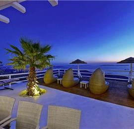 9 Bedroom Villa with Infinity Pool in Fanari on Mykonos, Sleeps 18