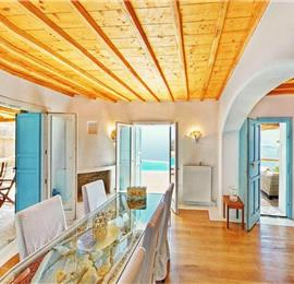 6 Bedroom Villa with Infinity Pool in Fanari on Mykonos, Sleeps 13
