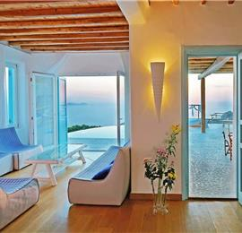 12 Bedroom Villa with Two Pools in Fanari on Mykonos, Sleep 25