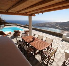 3 Bedroom Villa with Infinity Pool near Super Paradise Beach on Mykonos, Sleeps 6