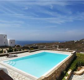 4 Bedroom Villa with Pool near Super Paradise Beach on Mykonos, Sleeps 8