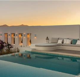 6 Bedroom Villa with Pool near Ambelas on Paros, Sleeps 11