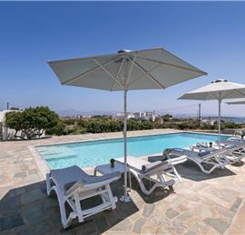 4 Bedroom Villa with Pool in Santa Maria on Paros, Sleeps 8