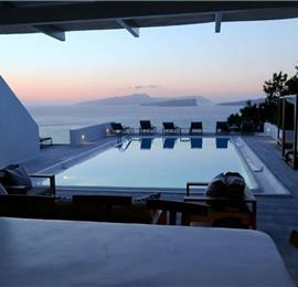 7 Bedroom Villa with Pool in Akrotiri on Santorini, Sleeps 14