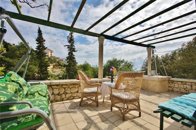 3 bed villa with separate annex for 2 in Sevid near Primosten, sleeps 8-12