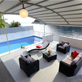 4 Bedroom Seaside Villa with Pool in Razanj, Sleeps 8-9