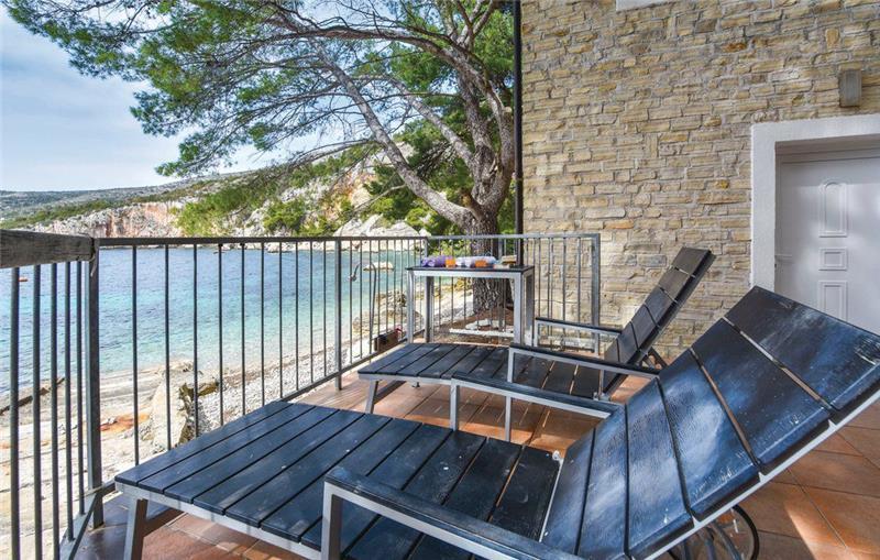 4-Bedroom Waterfront Villa near Zarace, Hvar Island, Sleeps 7