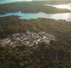 Selection of 4-Bedroom Villas with Pool and Sea view near Stari Grad, Hvar Island, Sleeps 8-10