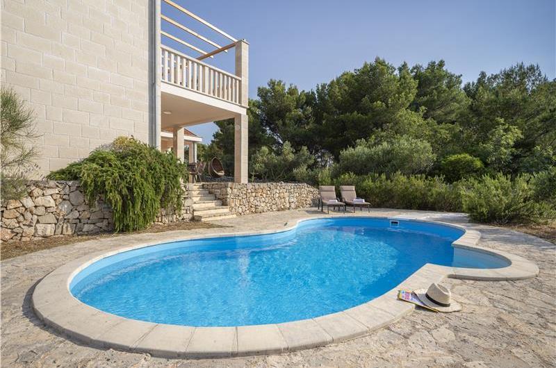 Selection of 3-Bedroom Villas with Pool and Sea view near Stari Grad, Hvar Island, Sleeps 6-8