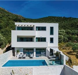 4 Bedroom Villa with Pool and Sea Views in Zaton Mali, near Dubrovnik, Sleeps 8