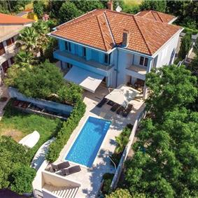 5 Bedroom Villa with Pool and Spa in Barbat on Rab Island, Sleeps 10