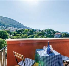 2 Bedroom Apartment with Terrace in Dubrovnik City, Sleeps 3-5