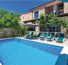 7 Bedroom Villa with Pool on Rab Kampor, Rab Island Sleeps 14