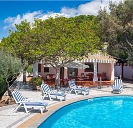 5 Bedroom Beachfront Villa with Pool near Cagliari, Sleeps 12