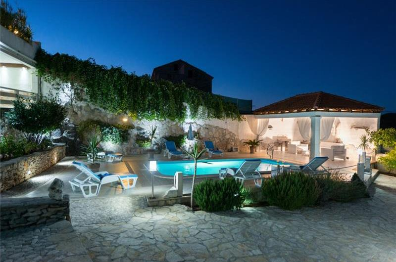 5 Bedroom Villa with Pool and Terrace in Selca on Brac Island, Sleeps 12 -14