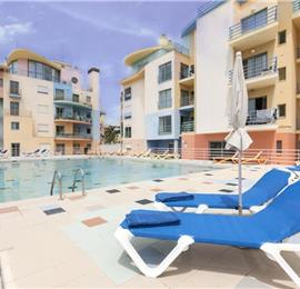 2 Bedroom Apartment with Shared Pool, Balcony and Marina Views in Albufeira, Sleeps 4-6