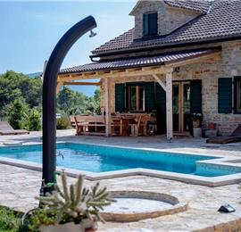 5 Bedroom Villa with Pool near Stari Grad, Hvar Island Sleeps 12
