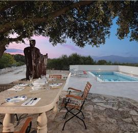 2 Bedroom Villa on Brac Island with Pool, Sleeps 5-7