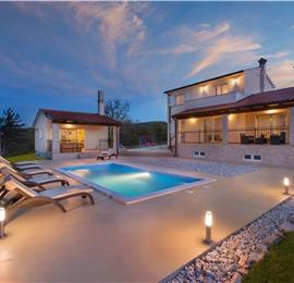 3 Bedroom Istrian Villa with Pool near Labin, Sleeps 6