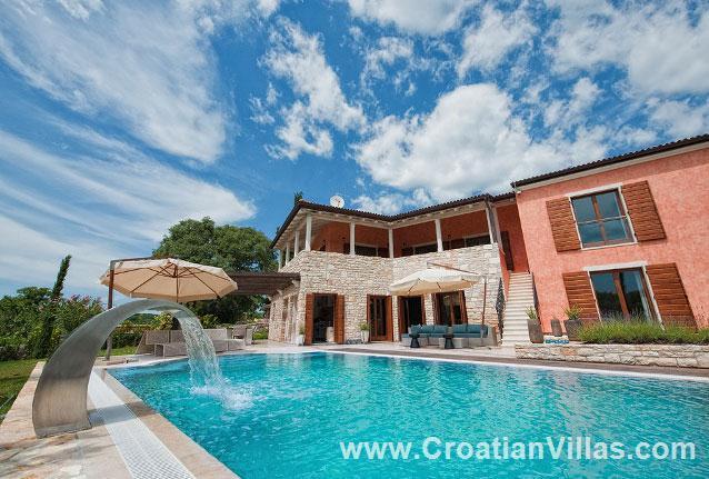 Luxury Villa in Istria with Pool near Rovinj sleeps 10
