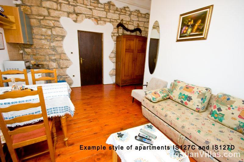 1 and 2 Bedroom Apartments near Visnjan, Istria. Sleeps 2-6